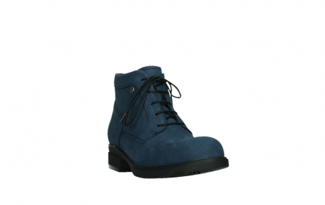 wolky lace up boots 02630 seagram xw 13800 blue nubuckleather_5