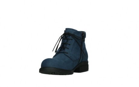 wolky lace up boots 02630 seagram xw 13800 blue nubuckleather_9