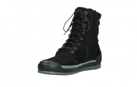 wolky lace up boots 02775 adams 13000 black nubuckleather_10