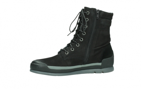 wolky lace up boots 02775 adams 13000 black nubuckleather_12