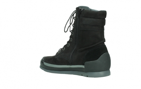 wolky lace up boots 02775 adams 13000 black nubuckleather_16