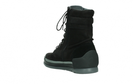 wolky lace up boots 02775 adams 13000 black nubuckleather_17