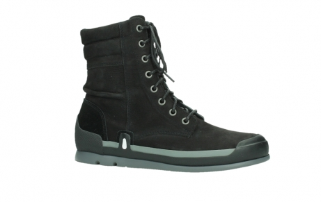 wolky lace up boots 02775 adams 13000 black nubuckleather_2