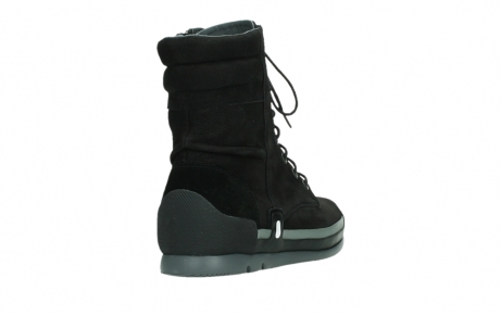 wolky lace up boots 02775 adams 13000 black nubuckleather_21