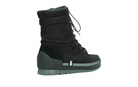 wolky lace up boots 02775 adams 13000 black nubuckleather_22