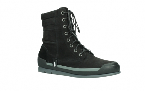 wolky lace up boots 02775 adams 13000 black nubuckleather_3