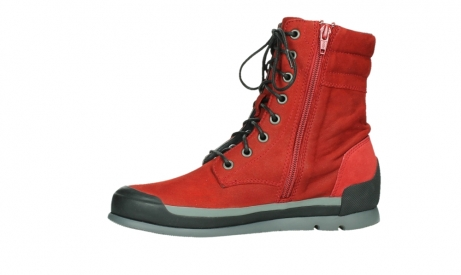 wolky lace up boots 02775 adams 13505 red nubuckleather_12