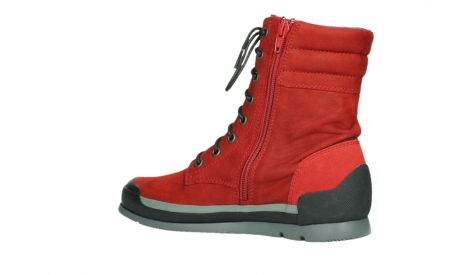wolky lace up boots 02775 adams 13505 red nubuckleather_15