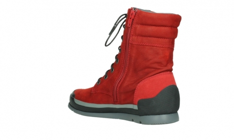 wolky lace up boots 02775 adams 13505 red nubuckleather_16