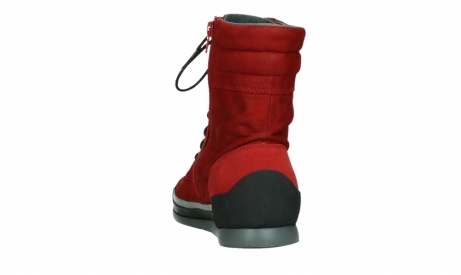 wolky lace up boots 02775 adams 13505 red nubuckleather_18