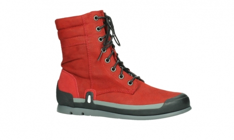 wolky lace up boots 02775 adams 13505 red nubuckleather_2