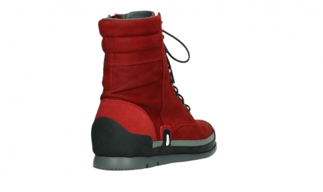 wolky lace up boots 02775 adams 13505 red nubuckleather_21