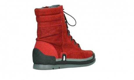 wolky lace up boots 02775 adams 13505 red nubuckleather_22