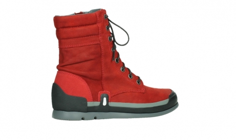 wolky lace up boots 02775 adams 13505 red nubuckleather_23
