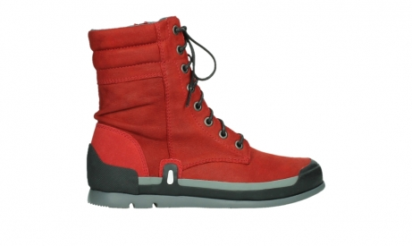 wolky lace up boots 02775 adams 13505 red nubuckleather_24
