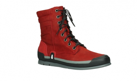 wolky lace up boots 02775 adams 13505 red nubuckleather_3