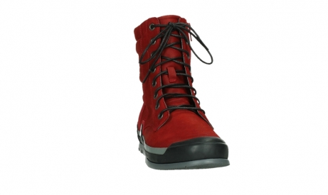 wolky lace up boots 02775 adams 13505 red nubuckleather_6