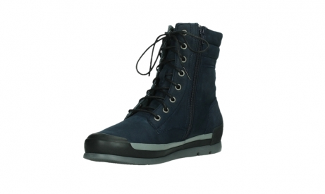 wolky lace up boots 02775 adams 13800 blue nubuckleather_10
