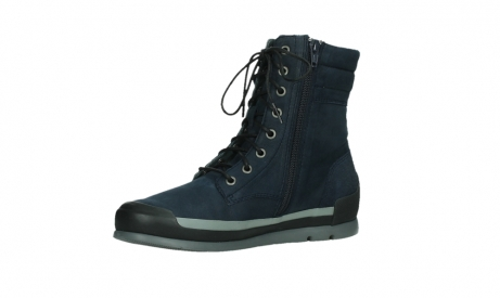 wolky lace up boots 02775 adams 13800 blue nubuckleather_11