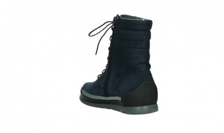 wolky lace up boots 02775 adams 13800 blue nubuckleather_17