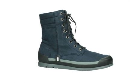 wolky lace up boots 02775 adams 13800 blue nubuckleather_2