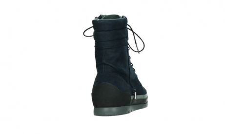 wolky lace up boots 02775 adams 13800 blue nubuckleather_20