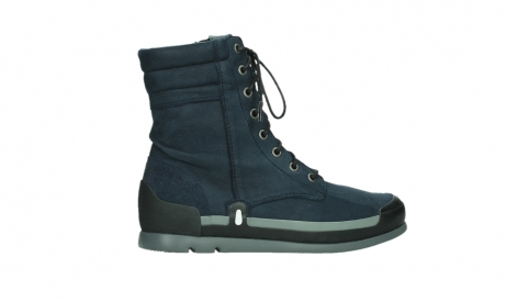 wolky lace up boots 02775 adams 13800 blue nubuckleather_24