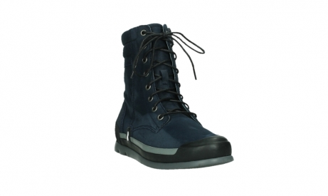 wolky lace up boots 02775 adams 13800 blue nubuckleather_5