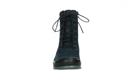 wolky lace up boots 02775 adams 13800 blue nubuckleather_7
