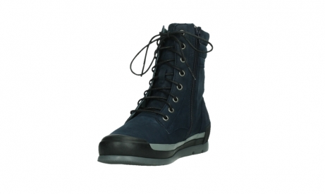wolky lace up boots 02775 adams 13800 blue nubuckleather_9