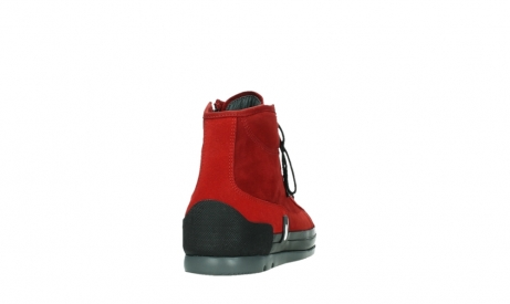 wolky bottines a lacets 02777 watson 13505 cuir nubuck rouge_20