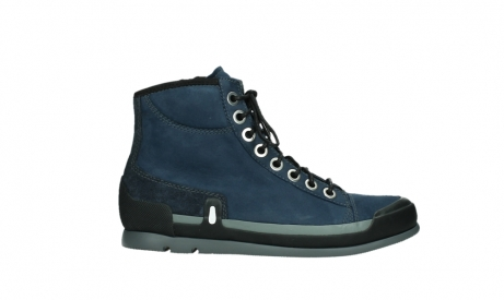 wolky lace up boots 02777 watson 13800 blue nubuckleather_1