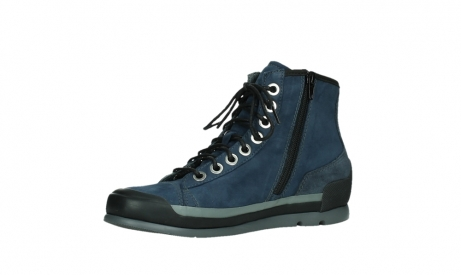 wolky lace up boots 02777 watson 13800 blue nubuckleather_11