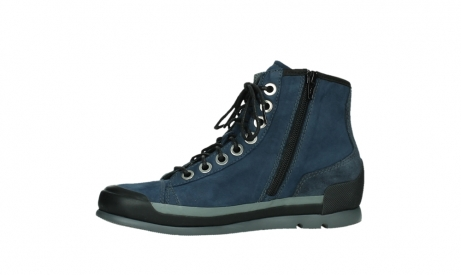 wolky lace up boots 02777 watson 13800 blue nubuckleather_12