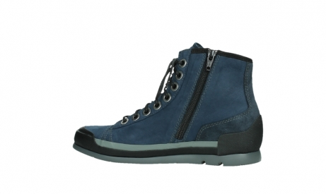 wolky lace up boots 02777 watson 13800 blue nubuckleather_14