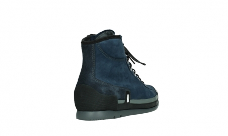 wolky lace up boots 02777 watson 13800 blue nubuckleather_21