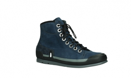 wolky lace up boots 02777 watson 13800 blue nubuckleather_3