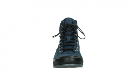 wolky lace up boots 02777 watson 13800 blue nubuckleather_7