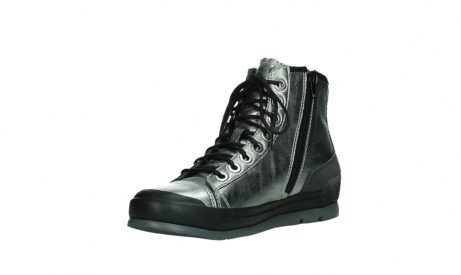 wolky bottines a lacets 02777 watson 30280 cuir metallise_10