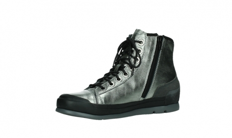 wolky lace up boots 02777 watson 30280 metal leather_11