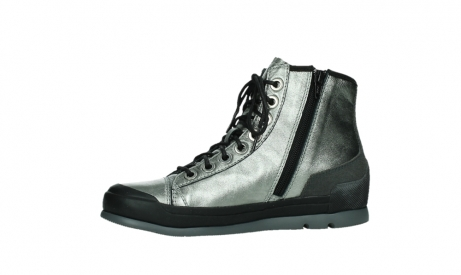 wolky lace up boots 02777 watson 30280 metal leather_12