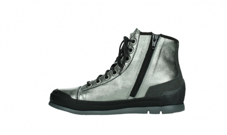 wolky lace up boots 02777 watson 30280 metal leather_13