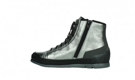 wolky lace up boots 02777 watson 30280 metal leather_14