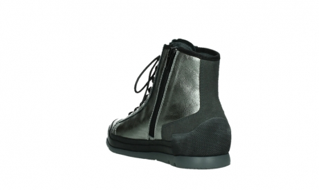 wolky lace up boots 02777 watson 30280 metal leather_17