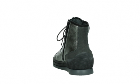 wolky bottines a lacets 02777 watson 30280 cuir metallise_18
