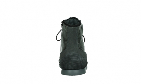 wolky lace up boots 02777 watson 30280 metal leather_19