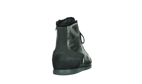 wolky lace up boots 02777 watson 30280 metal leather_20