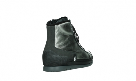wolky bottines a lacets 02777 watson 30280 cuir metallise_21