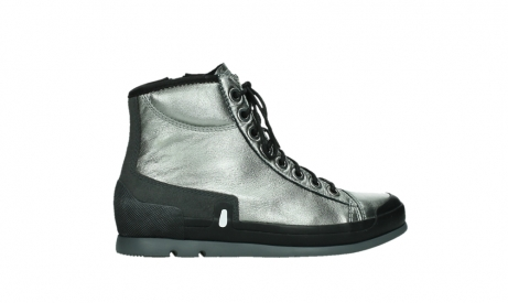 wolky lace up boots 02777 watson 30280 metal leather_24