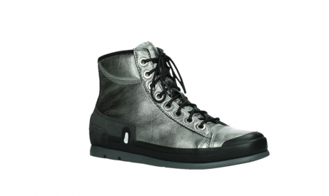 wolky lace up boots 02777 watson 30280 metal leather_3
